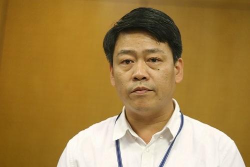 Ông Nguyễn Thượng Hiền, Vụ trưởng Vụ quản lý chất thải rắn. Ảnh: Gia Chính