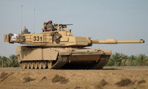 Xe tăng M1A2 Abrams trong biên chế quân đội Mỹ. Ảnh: Military Today.
