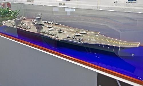 Nga thiết kế tàu sân bay phi hạt nhân 40.000 tấn