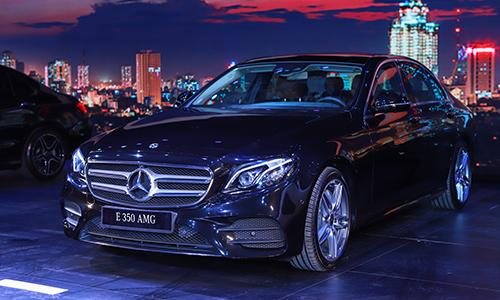 Mercedes E 350 AMG - bản cao cấp nhất giá 2,89 tỷ đồng.