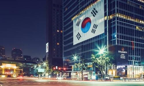 Một khu phố ở Seoul năm 2017. Ảnh: SBS.