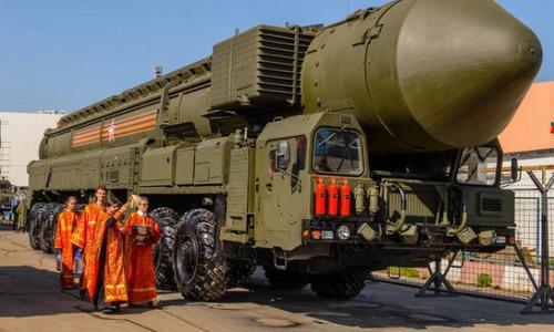 Giáo hội Nga có thể cấm 'làm phép' cho vũ khí hủy diệt hàng loạt