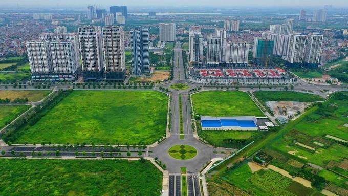Đường 8 làn xe nối ba quận ở Hà Nội