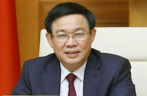 Phó thủ tướng Vương Đình Huệ. Ảnh: VGP.
