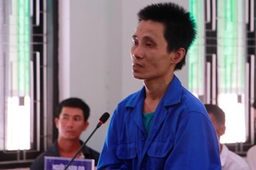 Bị cáo Việt tại phiên tòa. Ảnh: Võ Thạnh