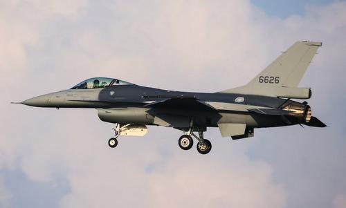 Tiêm kích F-16V đầu tiên được Mỹ nâng cấp cho Đài Loan. Ảnh: Taiwan News.