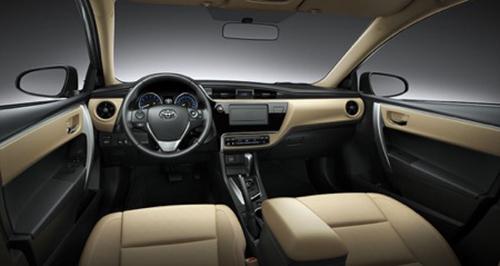 Thiết kế cabin Corolla Altis.