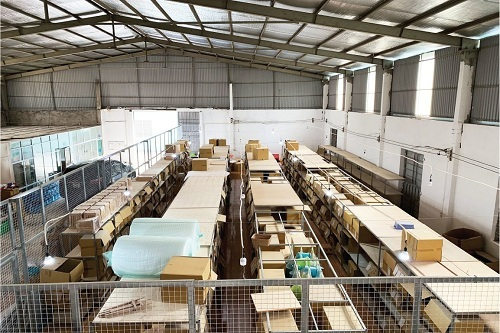 Hơn 500 mã sản phẩm đều được sản xuất trực tiếp tại Việt Nam.