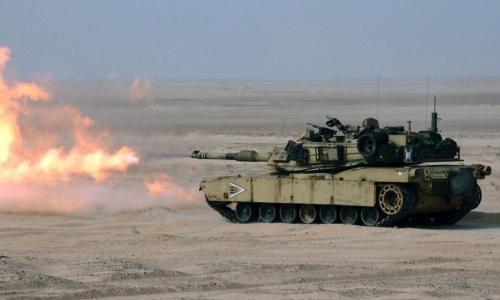 Xe tăng M1A2T Abrams của Mỹ. Ảnh: US Navy.