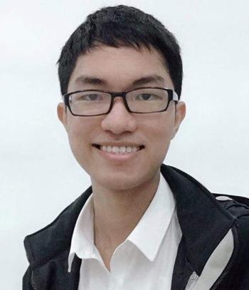 Nguyễn Võ Thanh Việt, thủ khoaK65 Đại học Sư phạm Hà Nội.