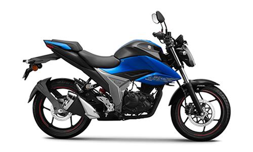 Suzuki Gixxer 155 2019 giá 1.500 USD tại Ấn Độ.