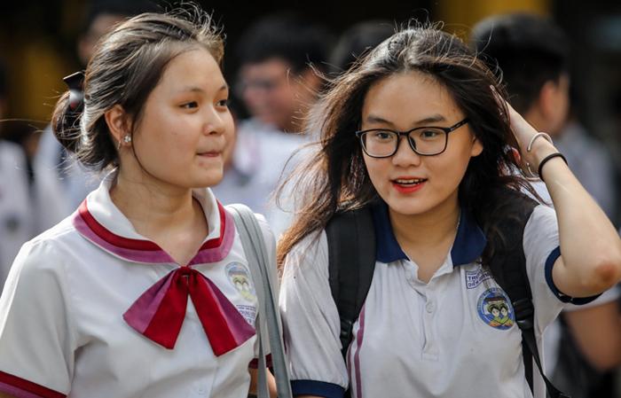 Thí sinh dự thi THPT quốc gia năm 2019 ở TP HCM. Ảnh: Thành Nguyễn