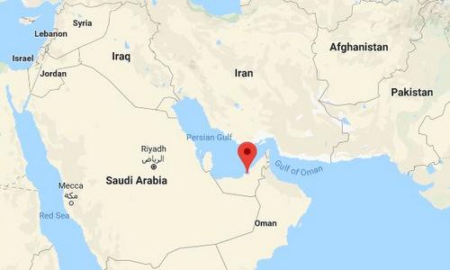 Vị trí căn cứ Al Dhafra. Đồ họa: Google Maps.