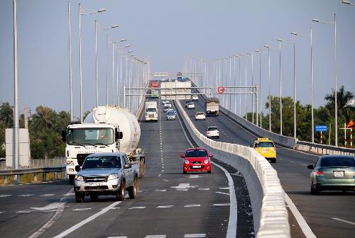 Cao tốc Phan Thiết - Dầu Giây sẽ kết nối với cao tốc Long Thành - Dầu Giây hiện nay. Ảnh:H.P