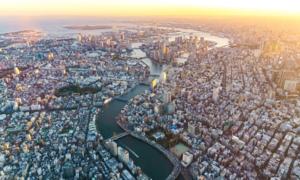 Những dòng sông bị 'bức tử' ở Tokyo