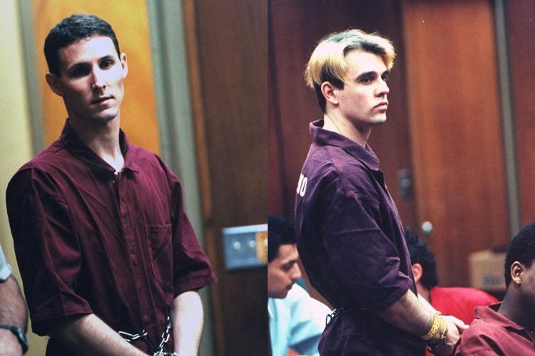 Dana Ewell (trái) và Joel Radovcich khi ra tòa. Ảnh: Getty.