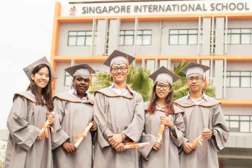 Với các môn quốc tế, học sinh sẽ học 100% giáo viên nước ngoài.