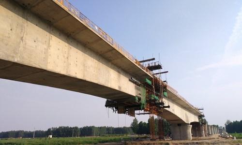 Tỉnh Sơn Đông, Trung Quốc, công bố kế hoạch mở rộng hệ thống đường sắt vào cuối năm ngoái nhằm tăng gấp đôi tổng chiều dài mạng lưới đường sắt cao tốc của tỉnh này lên 4.500 km vào năm 2022. Ảnh: SCMP.