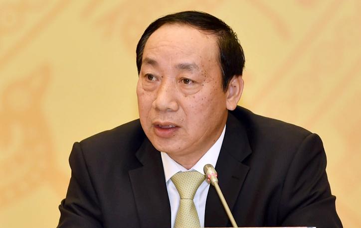 Nguyên Thứ trưởng Giao thông Vận tải Nguyễn Hồng Trường. Ảnh: VGP