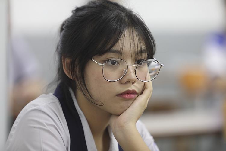 Thí sinh dự thi THPT quốc gia năm 2019. Ảnh: Thành Nguyễn