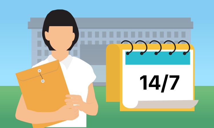 Sau khi tốt nghiệp THPT, thí sinh cần lưu ý các mốc tuyển sinh (click vào ảnh để xem chi tiết). Đồ họa: Tạ Lư