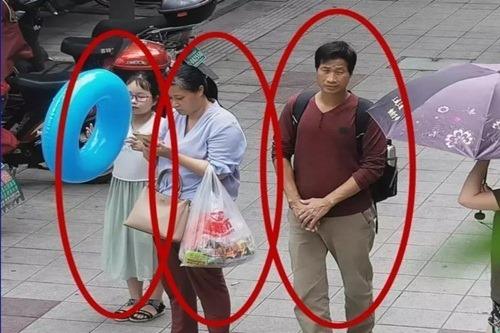 Cặp vợ chồng Liang cùng bé gái. Ảnh: Cảnh sát Chiết Giang.