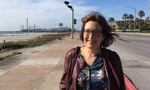 Nhà khoa học Mỹ Suzanne Eaton. Ảnh: AP.