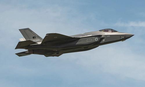 Tiêm kích F-35A đầu tiên Mỹ chế tạo cho Thổ Nhĩ Kỳ. Ảnh: Lockheed Martin.