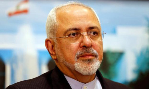Ngoại trưởng Iran Mohammad Javad Zarif. Ảnh:Reuters.