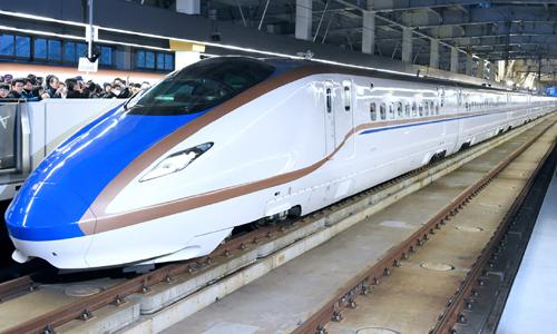 Hệ thống đường sắt cao tốc của Nhật Bản. Ảnh: Nikkei.