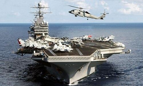 Tàu sân bay USS John C. Stennis thuộc Hạm đội 7 của Mỹ. Ảnh: Navydads.