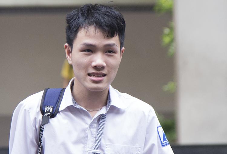 Thí sinh sự thi THPT quốc gia năm 2019 tại Hà Nội. Ảnh: Dương Tâm