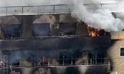 Xưởng phim hoạt hình Nhật cháy đen sau vụ phóng hỏa