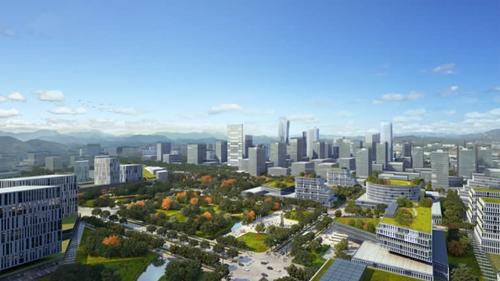 Hình ảnh phối cảnh của thành phố New Clark, nơi được chính phủ Tổng thống Philippines Rodrigo Duterte nhắm đến làm nơi đặt trung tâm hành chính mới. Ảnh: Nikkei Asian Review.