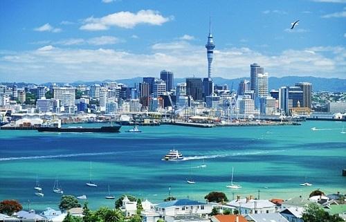 Một góc thành phốAuckland,nơi đặt trụ sở của Đại học Auckland - trường số 1 New Zealand. Ảnh:WDHB Careers