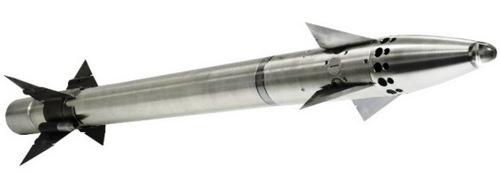 Tên lửa Martlet hoàn chỉnh. Ảnh: Thales.