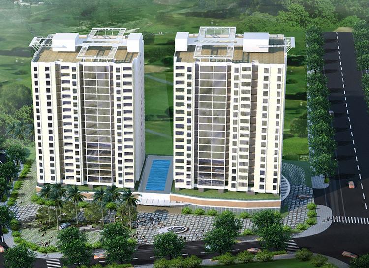 Một phần dự án khu nhà ở tại phường Phước Long B.