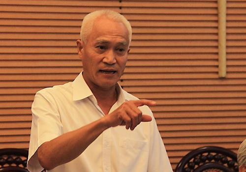 TS Nguyễn Chỉ Sáng. Ảnh: Anh Duy.