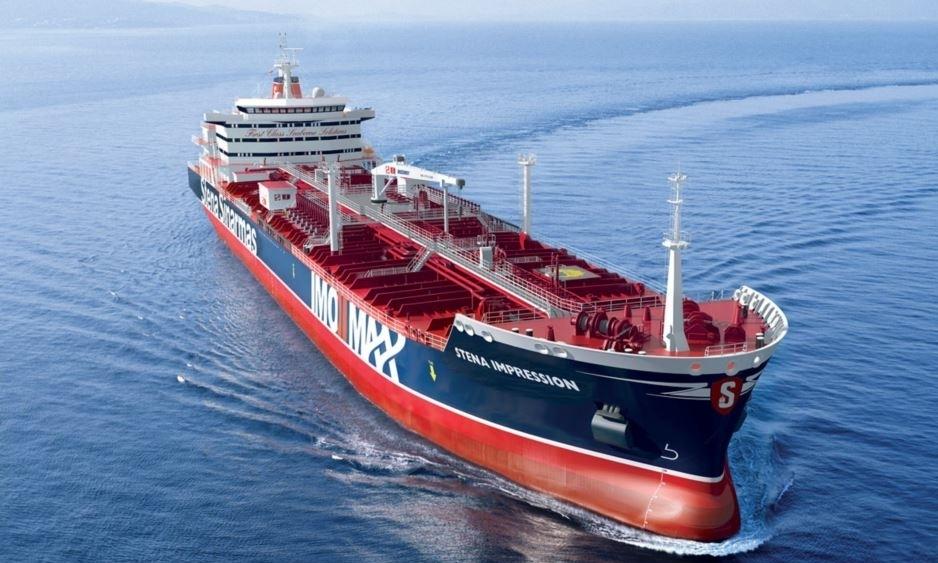 Iran bắt tàu dầu Anh ở Vùng Vịnh