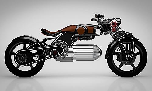 Curtiss Hades 2020 - siêu phẩm môtô điện.