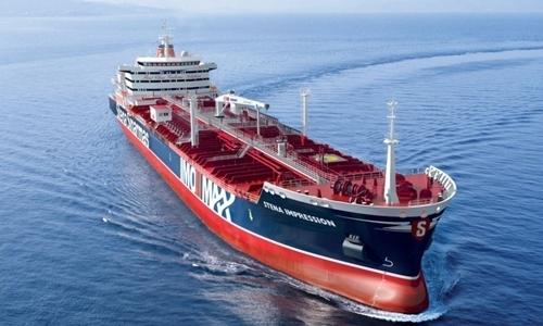 Tàu dầu Stena Impero. Ảnh: RFE.