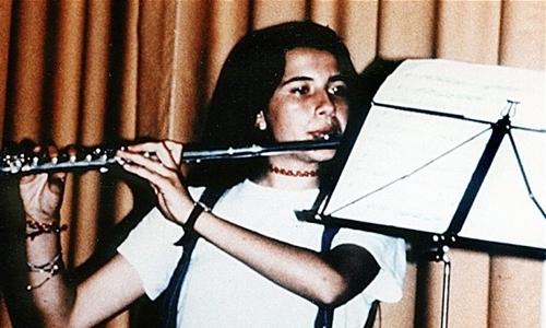 Emanuela Orlandi tại Italy vào đầu những năm 1980. Ảnh:Pietro Orlandi.