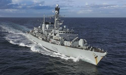 Tàu dầu liên lạc với chiến hạm Anh trước khi bị Iran bắt