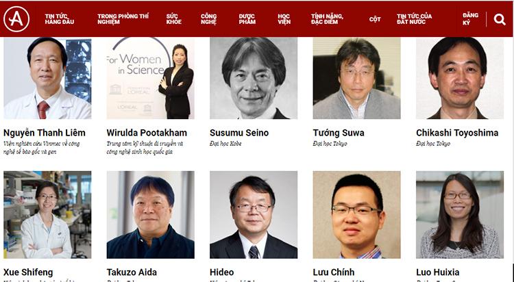 Два вьетнамца попали в топ-100 азиатских ученых 2019 года