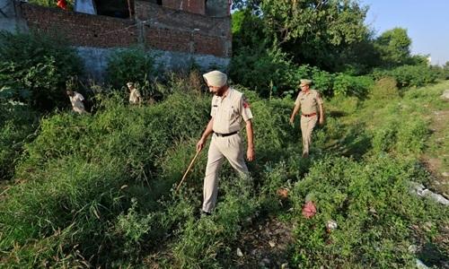 Cảnh sát Ấn Độ. Ảnh: Reuters.