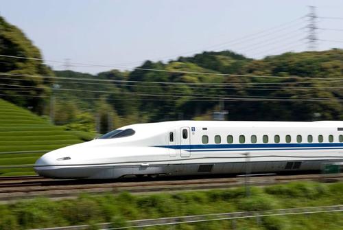 Tàu cao tốc công nghệ Nhật Bản. Ảnh: Texastribune.