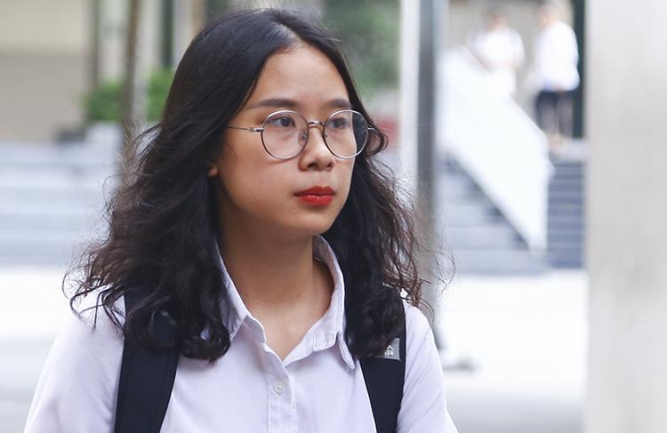 Thí sinh dự thi THPT quốc gia năm 2019 tại Hà Nội. Ảnh: Dương Tâm