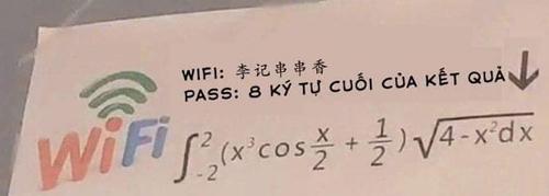 Ai biết mật khẩu là gì không?