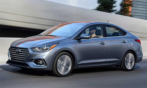 Hyundai Accent 2020giá từ 15.200 USD.