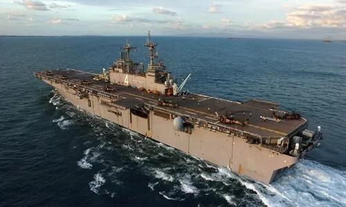 Tàu đổ bộ USS Boxer của hải quân Mỹ. Ảnh: Navy Times.